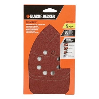 Black & Decker 74-671 Megamouse Sandpaper, Card 5