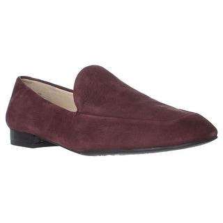 Nine West Womens Xalan Square Toe Loafers Loafers