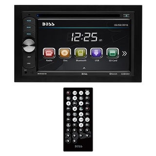 """Boss Double Din 6.2"""" Touchscreen with BT/Remote 320 Watts https://ak1.ostkcdn.com/images/products/is/images/direct/e520c8df6bd395d6271ef9e3fe6335eec7e6ca60/Boss-Double-Din-6.2%22-Touchscreen-with-BT-Remote-320-Watts.jpg?_ostk_perf_=percv&impolicy=medium"""