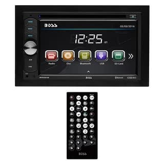 "Boss Double Din 6.2"" Touchscreen with BT/Remote 320 Watts