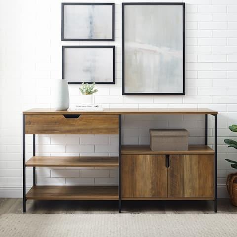 Carbon Loft 58-inch Open Shelving Sideboard