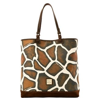 Dooney & Bourke Safari North South Lee Tote (Introduced by Dooney & Bourke at $228 in Apr 2016) - giraffe tmoro