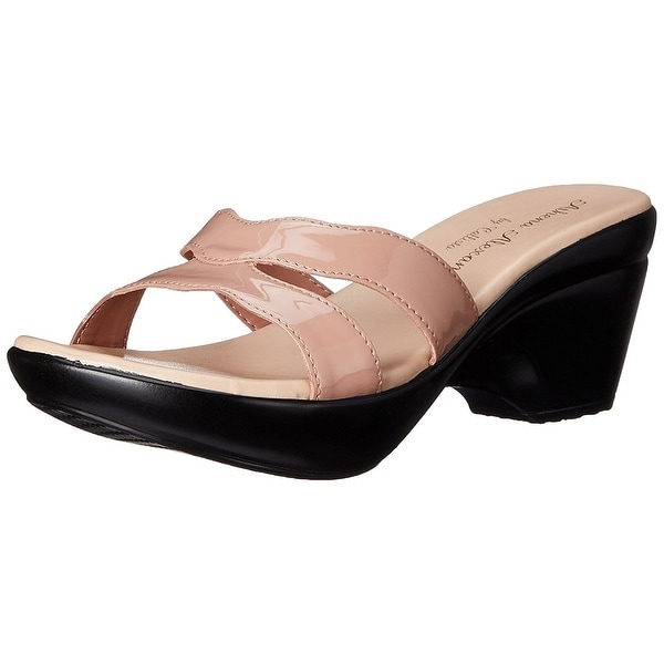 Athena Alexander Womens LINDEN Open Toe Casual Slide Sandals - 8