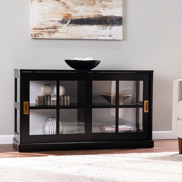 SEI Furniture Byhall Curio Cabinet. Opens flyout.