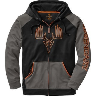 Legendary Whitetails Mens Broadhead Monster Full-Zip Performance Hoodie (Option: Xlt)