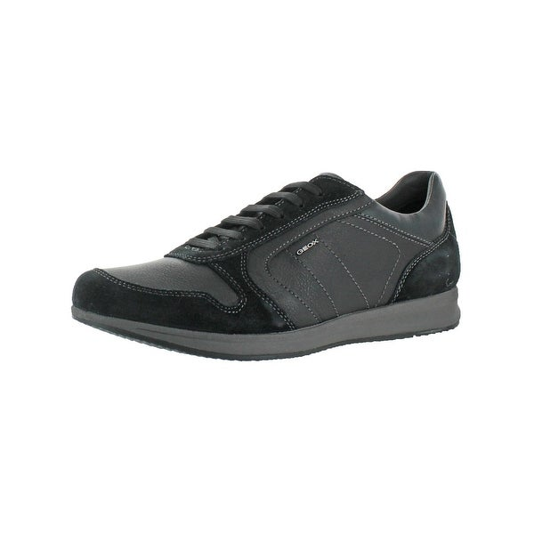 58eb255336 Shop Geox Respira Mens Avery Fashion Sneakers Mixed Media Breathable ...