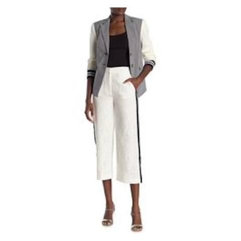 RACHEL ROY Womens Ivory Wide Leg Wear to Work Pants Size 12
