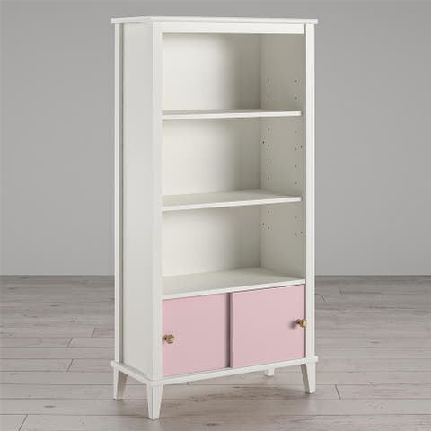 Little Seeds Monarch Hill Poppy Kids' White Bookcase - N/A