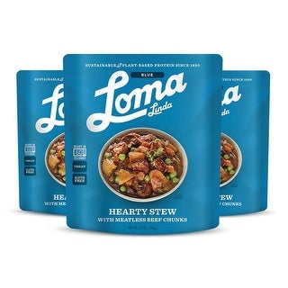 Loma Linda Blue - Plant-Based Hearty Stew (10 oz.) (Pack of 3)