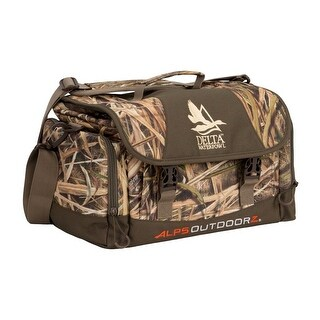 Delta Waterfowl Gear Hunting Supplies Floating Blind Bag Brown