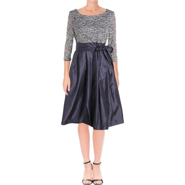 Shop Jessica Howard Womens Special Occasion Dress Sequined Lace 8