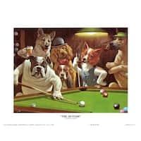 ''The Hustler'' by Arthur Sarnoff Humor Art Print (16 x 20 in.)