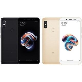 Xiaomi Redmi Note 5 64GB Unlocked GSM Dual-SIM Phone w/ Dual 12MP+5MP Camera