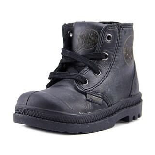 Palladium Pampa Hi Leather Zip Round Toe Leather Boot