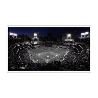 San Diego - Petco Park - Touch of Color Baseball Ballparks - 36x20 Canvas ToC