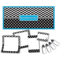 Black & White Sticky Notes