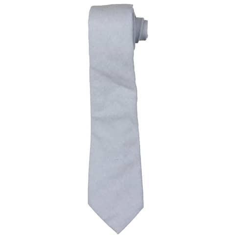 Lauren Ralph Lauren Mens Oxford Neck Tie Professional Business - Blue - O/S
