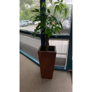 Classic Bronze Tall Angled Planter