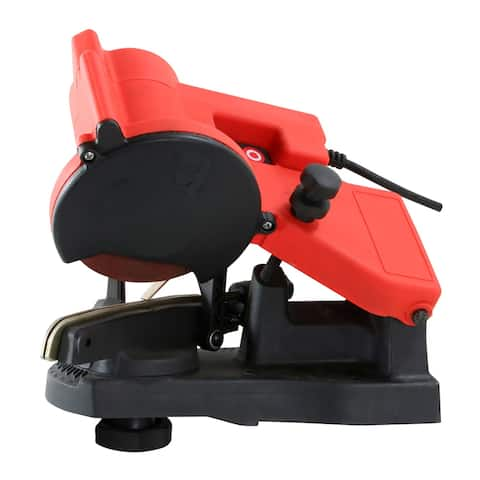 Offex Electric Chain Saw Sharpener - Red