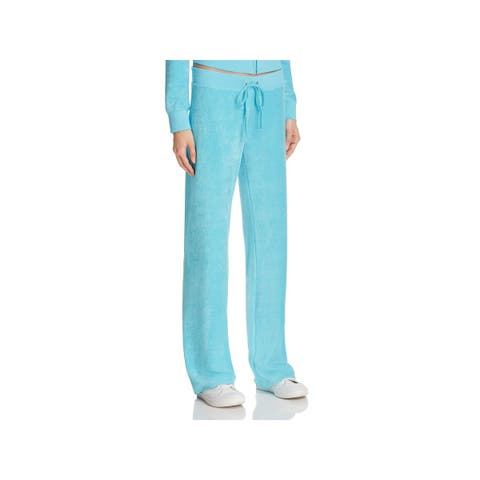 Juicy Couture Womens Athletic Pants Flare Tie Closure
