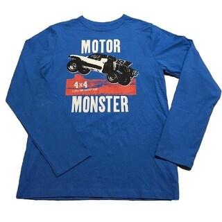 OshKosh B'gosh Big Boys' Graphic Tee, Motor Monster, 14 Kids