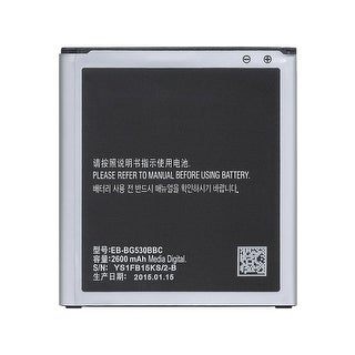 Replacement Battery For Samsung Galaxy J3 Luna Pro Mobile Phones - EB-BG530BBC (2600mAh, 3.8V, Lithium Ion)