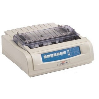 Okidata - Ml490n - Monochrome - Dot-Matrix - Network - 24-Pin Printerhead - Impact Printer