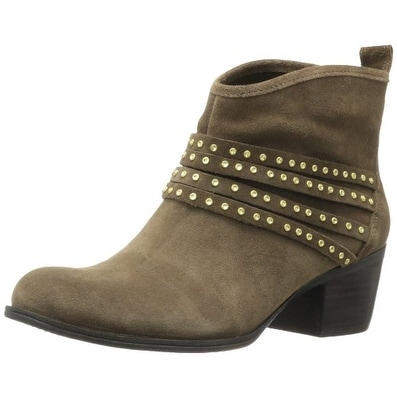 Jessica Simpson Womens Clauds Leather Closed Toe Ankle Fashion Boots