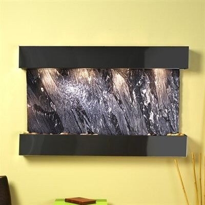 Adagio Sunrise Springs With Black Spider Marble in Blackened Copper Finish and S