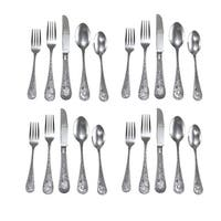 River's Edge 20 Piece Wilderness Outdoors Stainless Steel Flatware Set