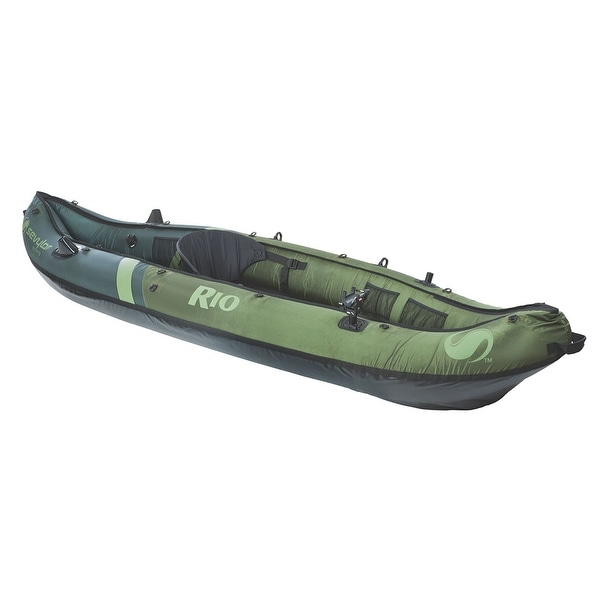 Sevylor rio 1 person inflatable fishing canoe