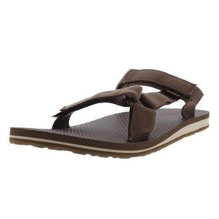 Teva Mens Universal Slide Sandals Textured Flat