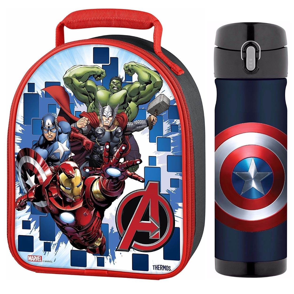 Avengers Thermos Soft Lunch Kit