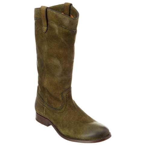 Frye Melissa Pull On Tall Suede Boot