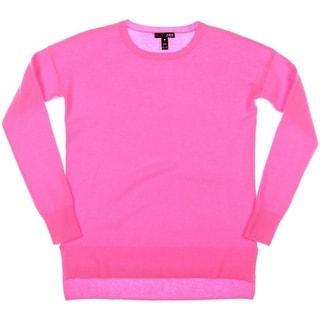 Aqua Womens Cashmere Knit Pullover Sweater