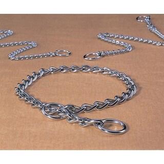 Heavy Choke Chain Dog Collar