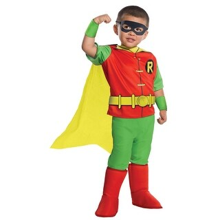 Toddler Deluxe Classic Robin Costume Size XS 2T-4T - xs (size 2t-4t)
