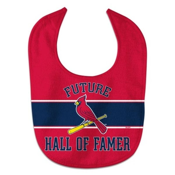 St. Louis Cardinals Baby Bib All Pro Style Future Hall of Famer. Opens flyout.