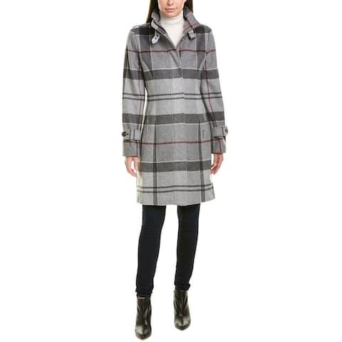 Barbour Seonaid Wool & Cashmere-Blend Coat