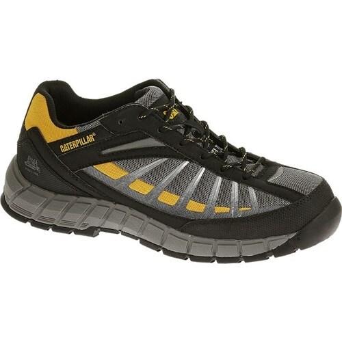CAT Footwear Infrastructure Steel Toe - Grey 7.5(W) Infrastructure Steel Toe Mens Work Shoe