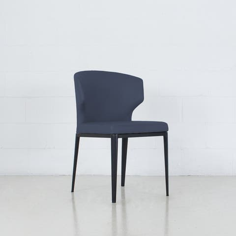 Cabo Mid-century Modern Leatherette Wingback Chair - Contract Grade