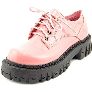 2 Lips Too Too Boyz Women Round Toe Synthetic Pink Oxford