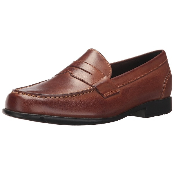 c7b40293e26 ... Men s Shoes     Men s Loafers. Rockport Mens M76444 Leather Round Toe Penny  Loafer