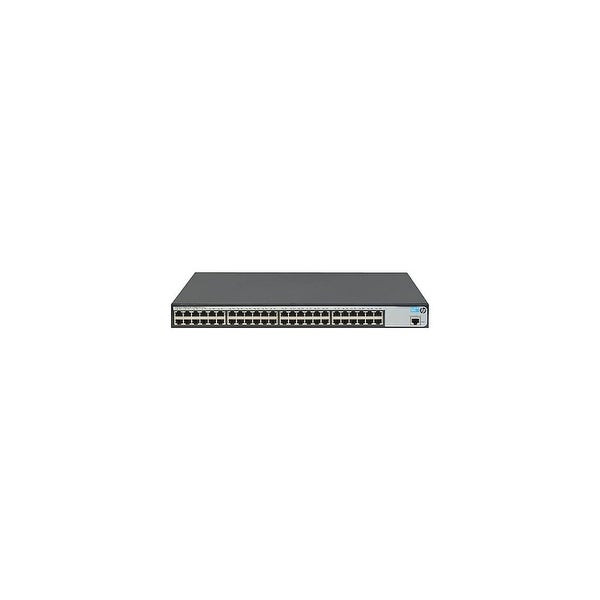 HP 1620-48G Port Ethernet Switch JG914A HP 1620-48G Switch - 48 Ports - Manageable - 10/100/1000Base-T - 2 Layer Supported - 1U