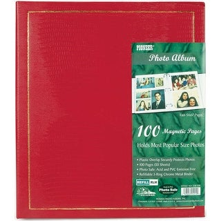 "Pioneer Magnetic Page Photo Album 10""X11.5""-100 Pages"