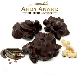 Andy Anand Sugar Free Carob Cashew Cluster 1 lbs