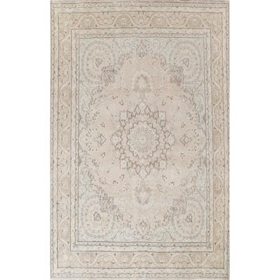 """Vintage Geometric Kerman Persian Home Decor Area Rug Wool Hand-knotted - 9'8"""" x 12'10"""""""