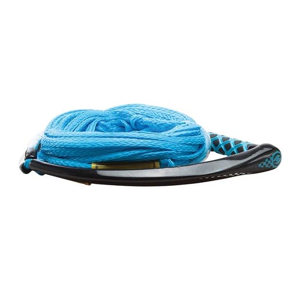 Hyperlite apex pe eva handle 65' wakeboard rope - blue
