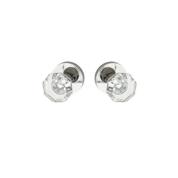 Montana Forge K4-R4-4095 Full Dummy Door Knob Set with K4 Knob and R4 Rose from the Contemporary Collection