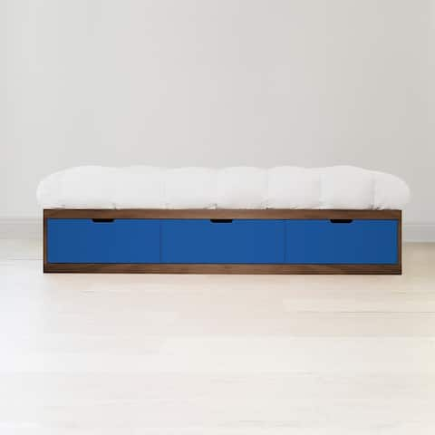 Taylor & Olive Marigold Panel Bed with Drawers